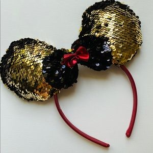 Other - Mini Mouse Ears Head band Hair Sequins
